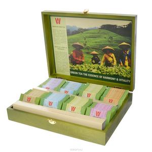 Wissotzky Green Tea Box зеленый чай в пакетиках