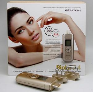 Косметический прибор по уходу за кожей лица